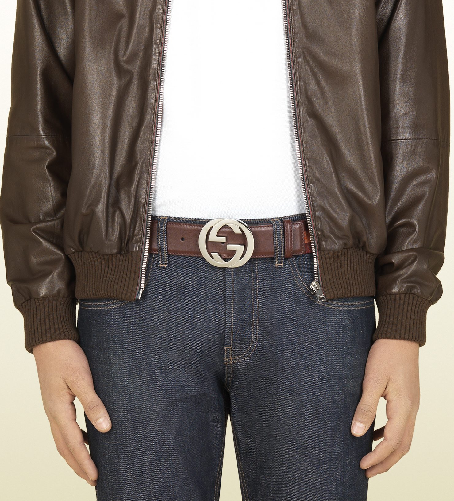 Gucci Belt For Men Brown