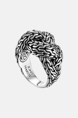 John Hardy Classic Chain Braided Ring - Lyst