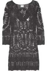 Lisa Maree Intertwined Lives Crocheted Cotton Coverup - Lyst