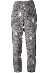 Marc By Marc Jacobs Sequinned Trouser - Lyst