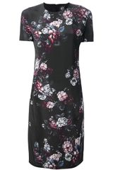 McQ by Alexander McQueen Floral Dress - Lyst
