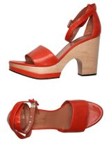 Robert Clergerie Platform Sandals - Lyst
