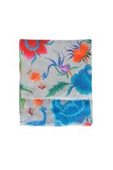 Temperley London Lotus Flower Print Scarf - Lyst
