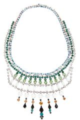 Tom Binns Embellished Necklace - Lyst