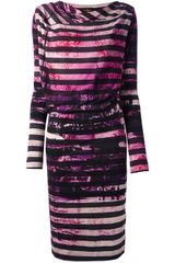 Vivienne Westwood Anglomania Striped Dress - Lyst