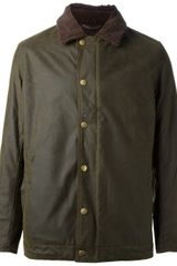 Barbour Hurricane Waxed Jacket - Lyst