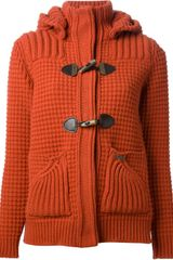Bark Knitted Coat - Lyst
