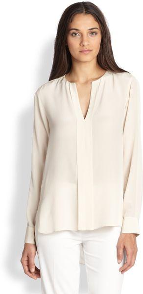 Zara Cream Silk Blouse 65