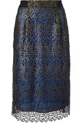By Malene Birger Chikal Lace Skirt - Lyst