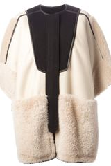 Chloé Oversized Coat - Lyst