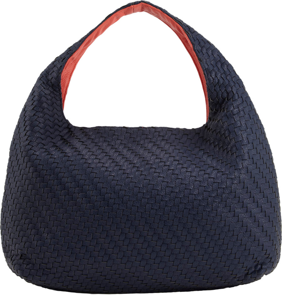Deux Lux Greenwich Studded Hobo In Blue Lyst