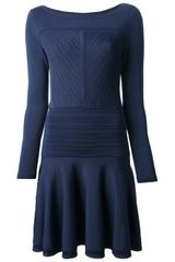 Diane Von Furstenberg Pattern Knit Dress - Lyst