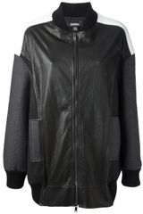 DKNY Zipped Jacket - Lyst