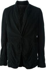 DRKSHDW by Rick Owens Button Up Blazer - Lyst