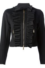 DSquared2 Ruffled Jacket - Lyst