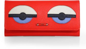 Fendi Monster Continental Wallet - Lyst