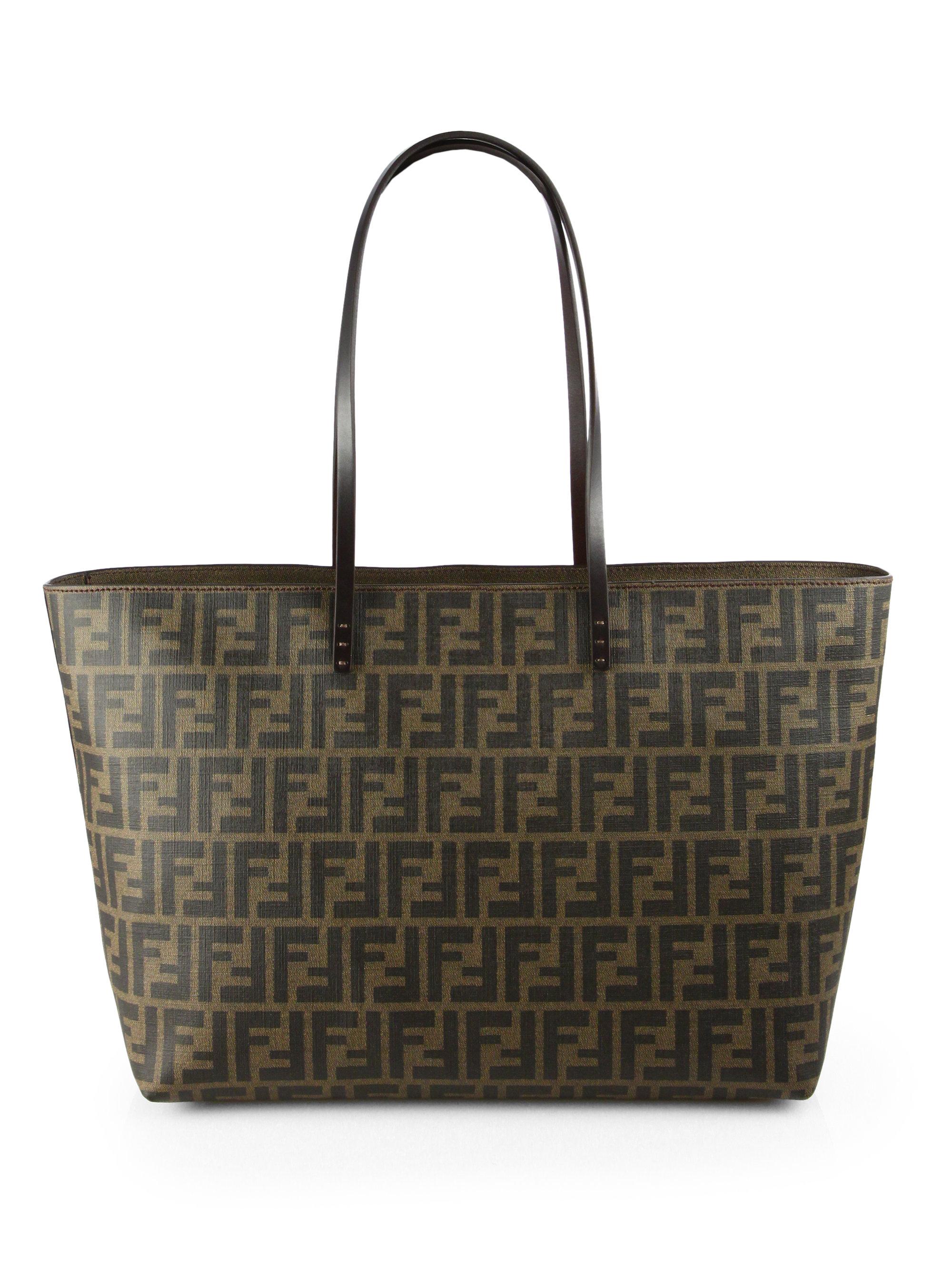 Fendi Matrioska Medium Shoulder Bag in Brown - Lyst 6435601112f9a