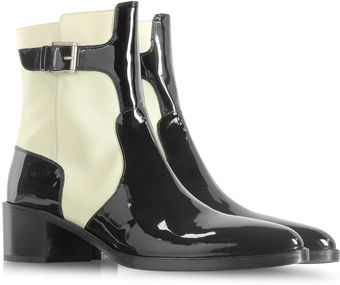 Fratelli Rossetti Color Block Patent Leather Boot - Lyst