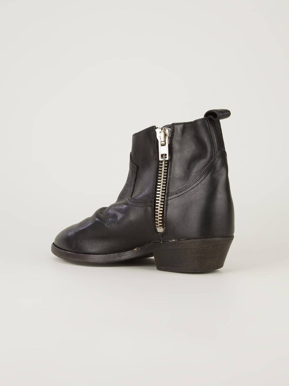 Golden goose deluxe brand Viand Ankle Boot in Black | Lyst