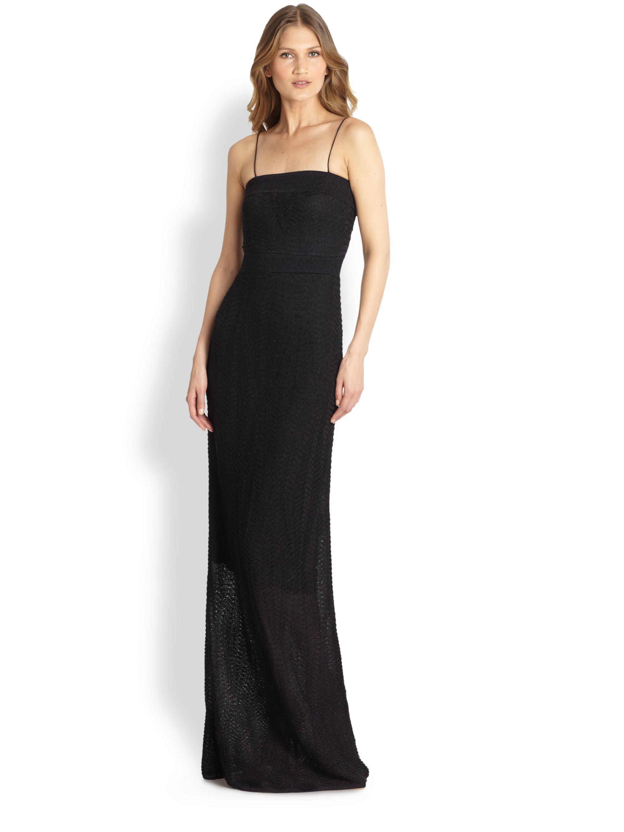 Black Strapless Long Maxi Dresses