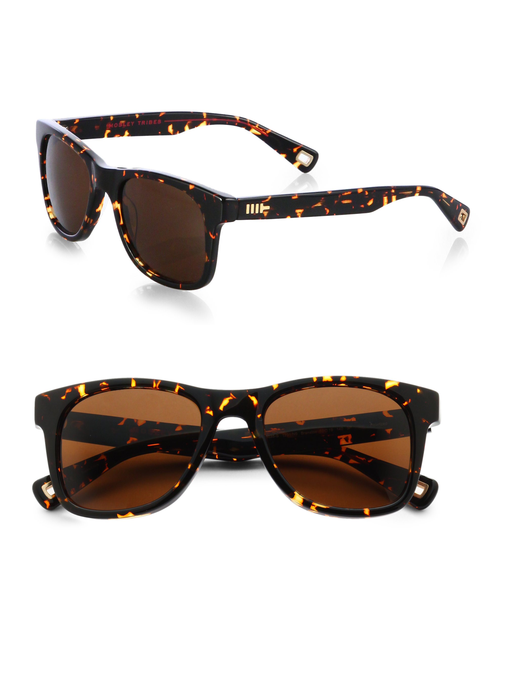 f08ada9cbaef Mosley Tribes Branston Plastic Sunglasses in Brown for Men - Lyst