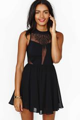 Nasty Gal Dark Dimension Dress - Lyst