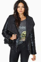 Nasty Gal Puff Puff Coat - Lyst