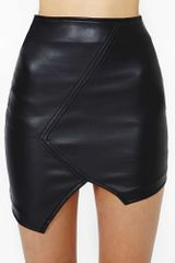 Nasty Gal Remixed Skirt - Lyst