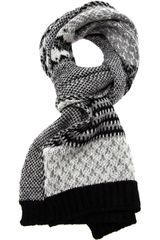 Pierre Louis Mascia Cashmere Striped Scarf - Lyst