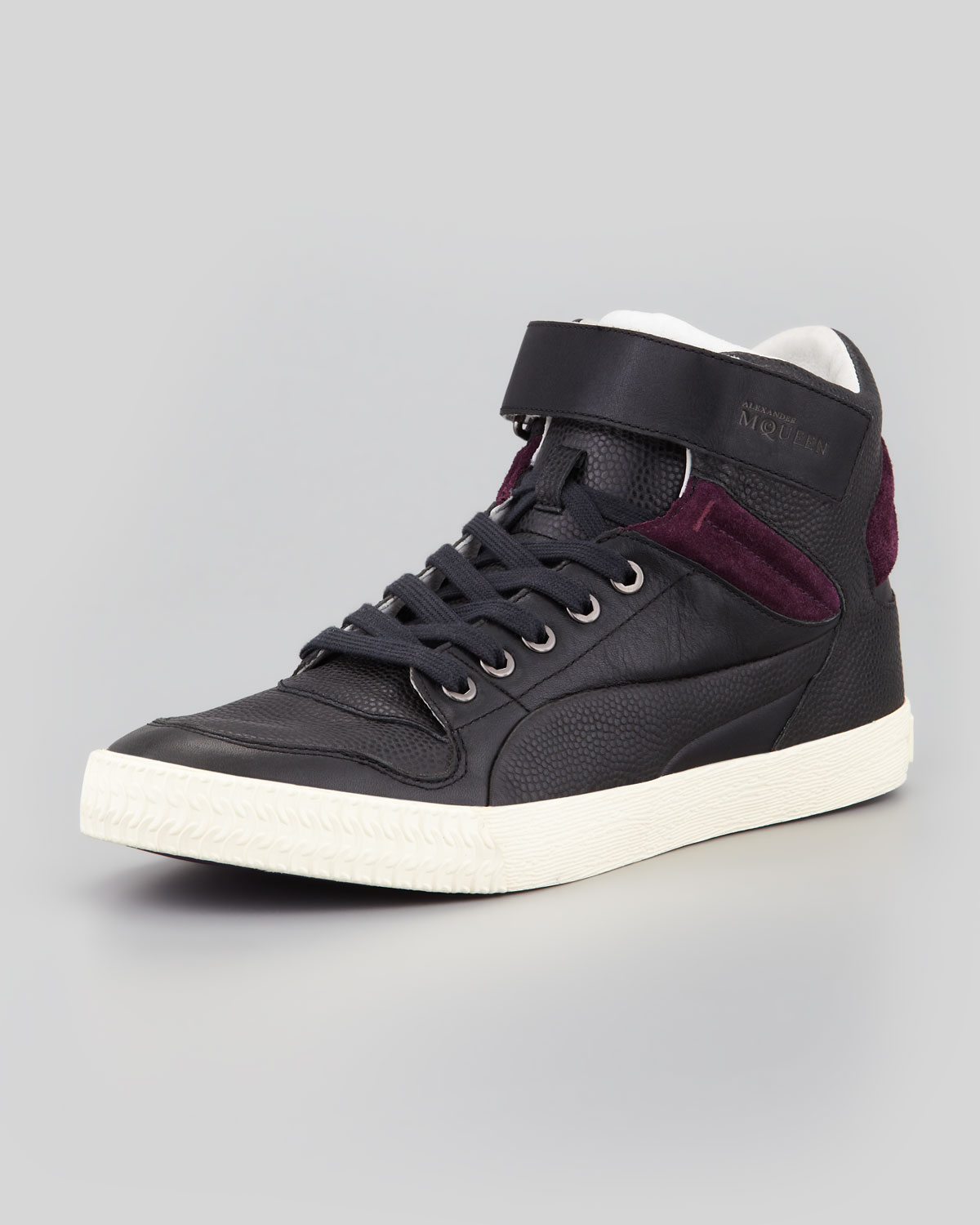 alexander mcqueen x puma street climber iii mid leather. Black Bedroom Furniture Sets. Home Design Ideas