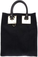 Sophie Hulme Mini Tote Bag - Lyst