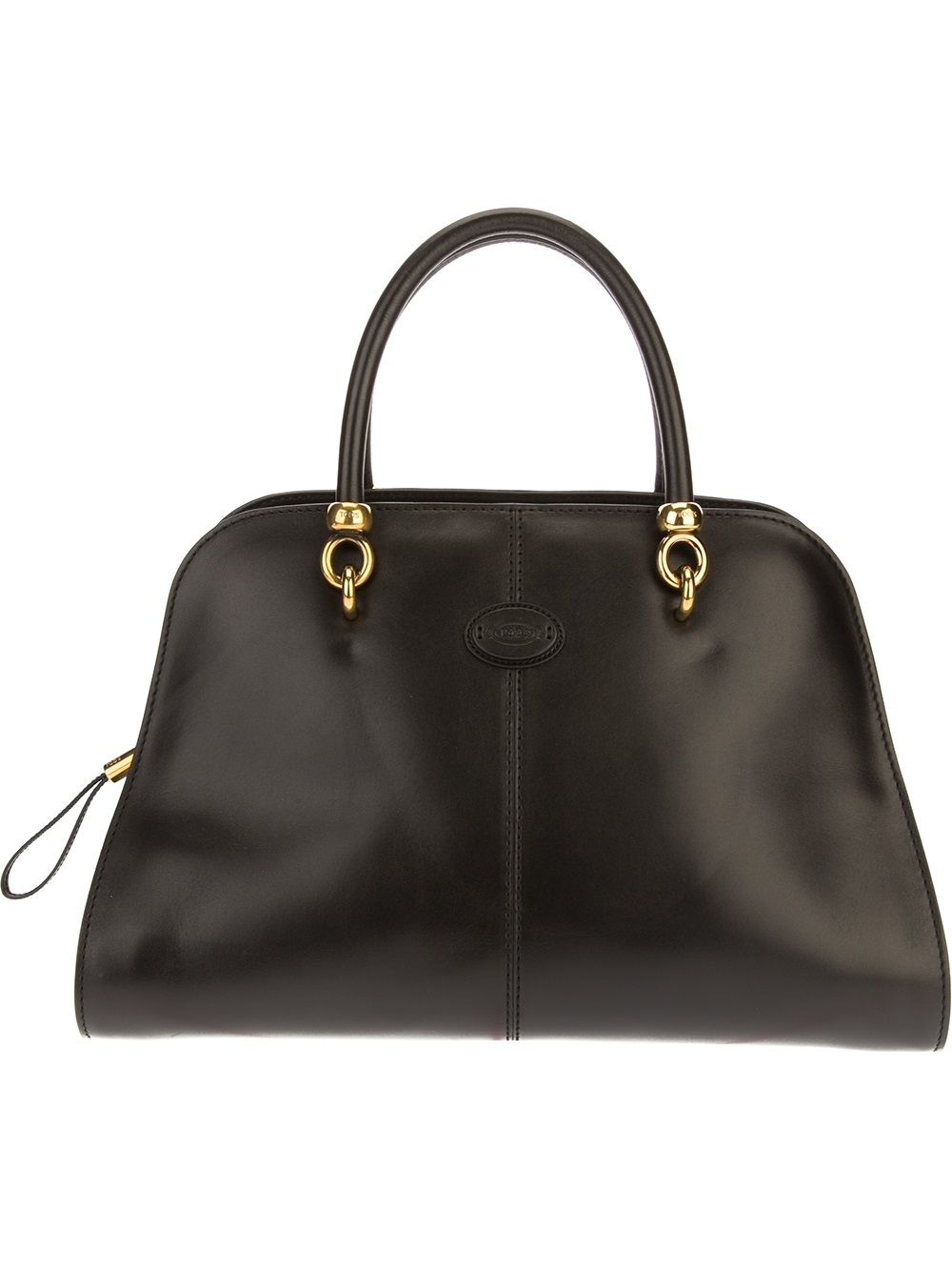 tod s sella tote bag in black lyst