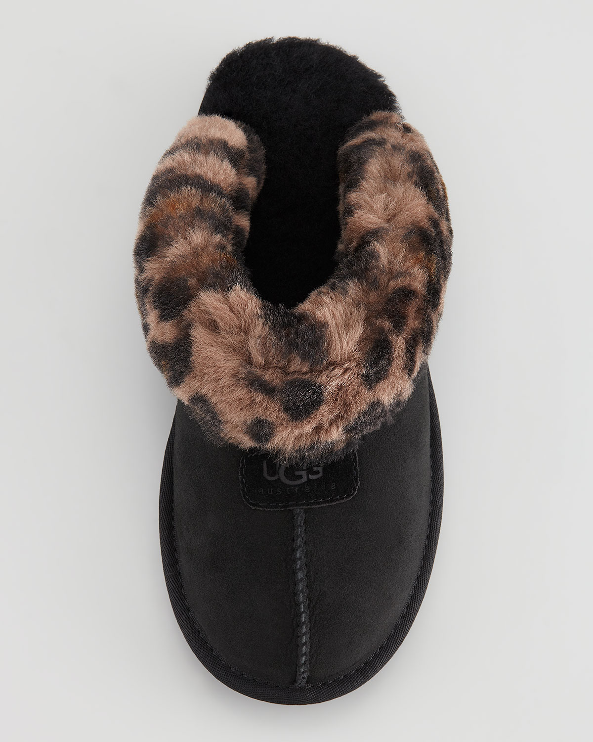 ugg leopard print slippers