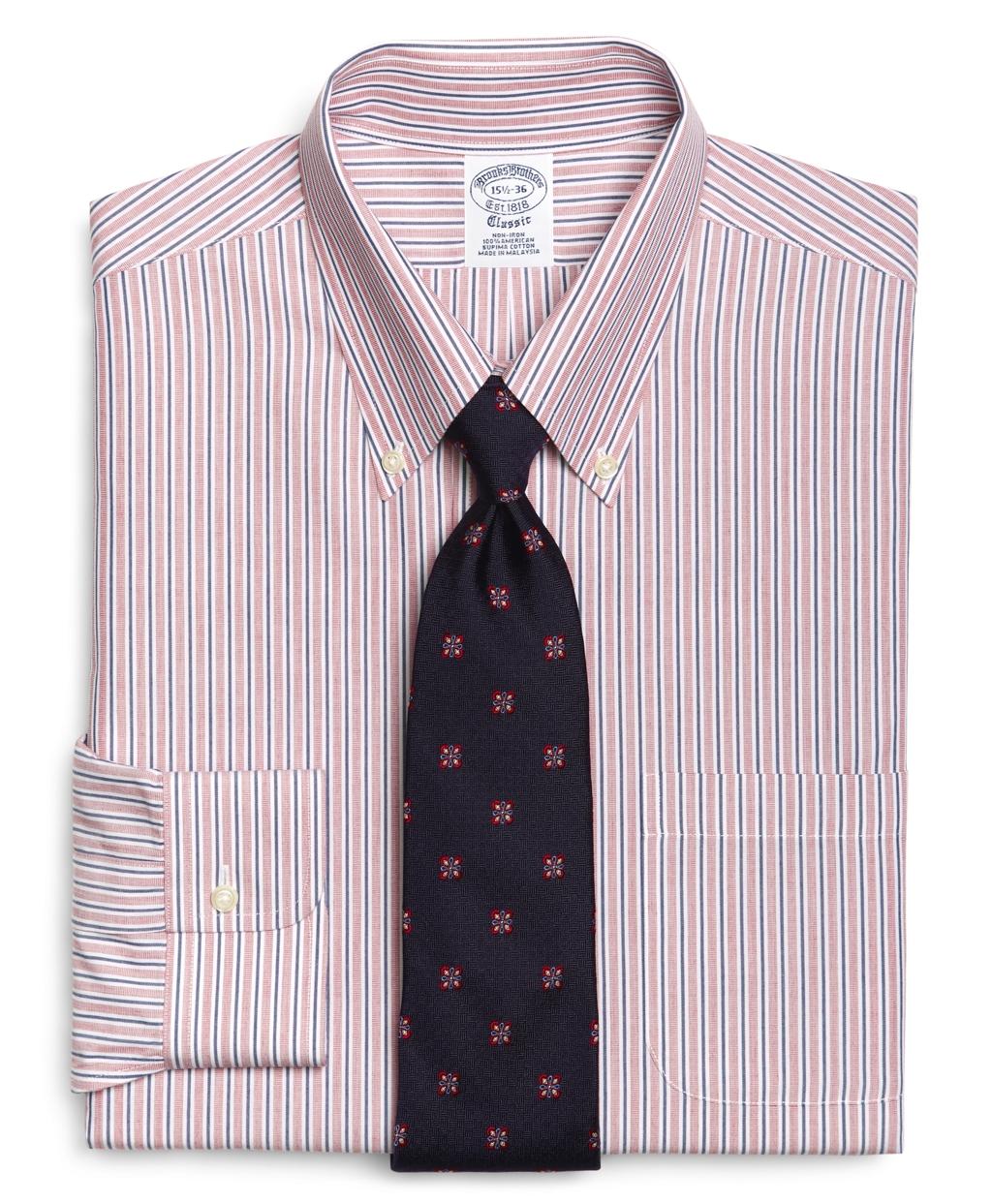 Brooks brothers supima cotton noniron regular fit for Supima cotton dress shirts