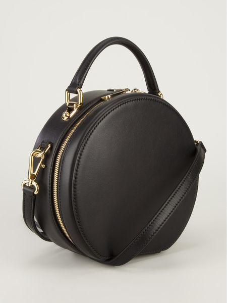 Dolce Amp Gabbana Round Tote Bag In Black Lyst