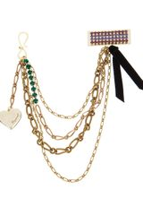 DSquared2 Chain Brooch - Lyst