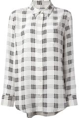 Equipment Reese Houndstooth Check Shirt - Lyst