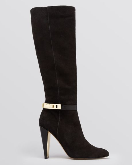 connection dress boots madia high heel in