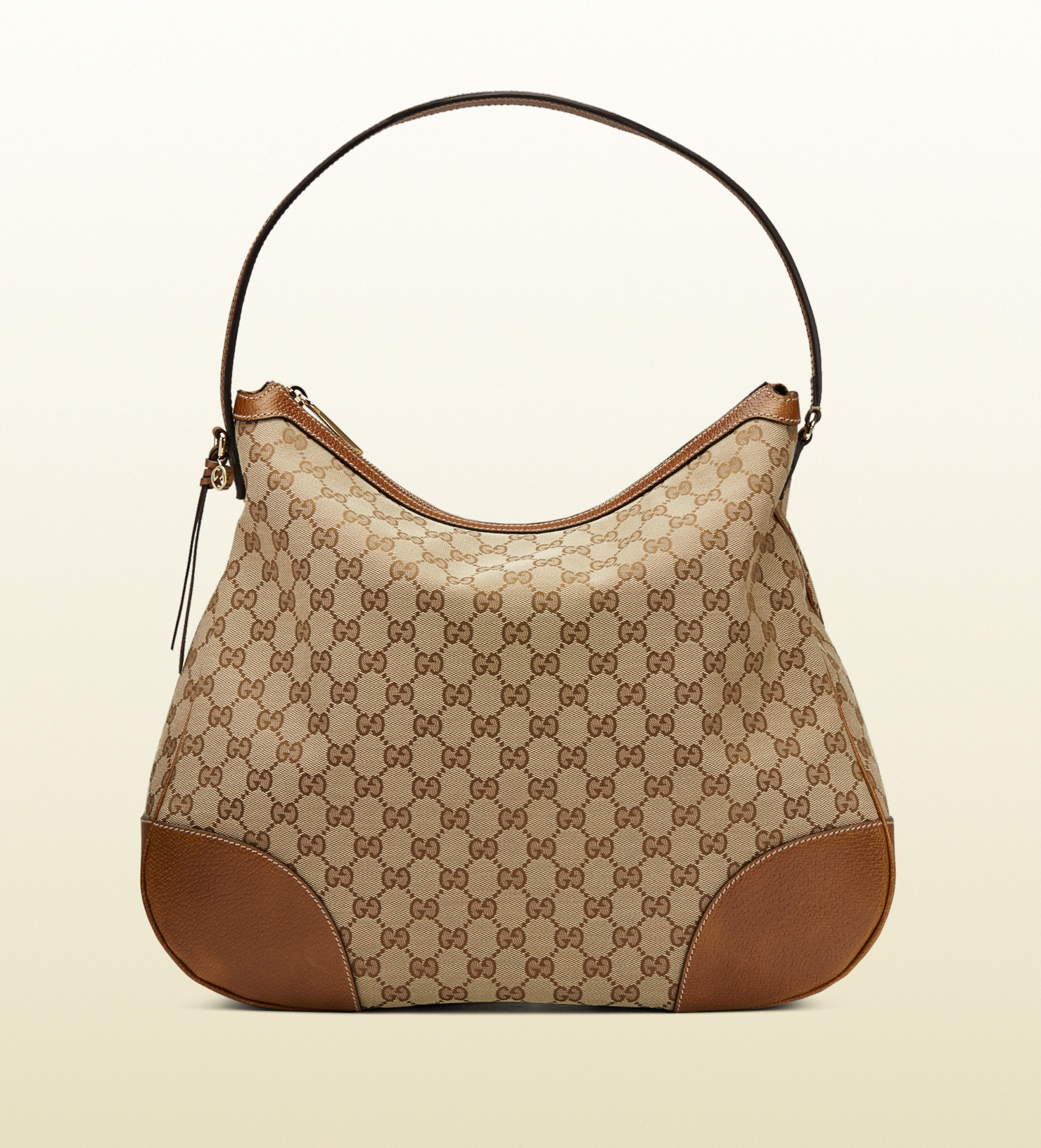 Gucci Bree Original Gg Canvas Hobo in Brown | Lyst