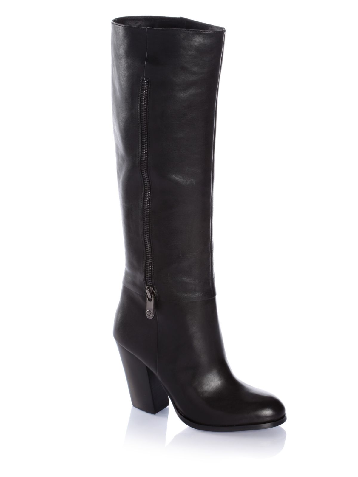 guess diarah boots in black lyst