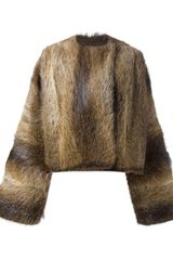 Haider Ackermann Reversible Raccoon Fur Jacket - Lyst