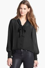 Halogen Bow Blouse - Lyst