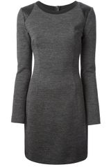 Joseph Long Sleeve Shift Dress - Lyst