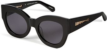Karen Walker Northern Lights Sunglasses in Black - Lyst