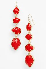 Kendra Scott Stone Drop Earrings - Lyst