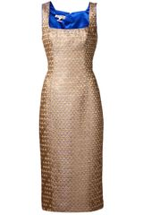 L'Wren Scott Scale Print Dress - Lyst