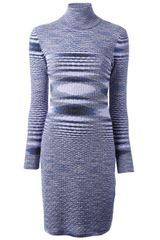 Missoni Roll Neck Dress - Lyst