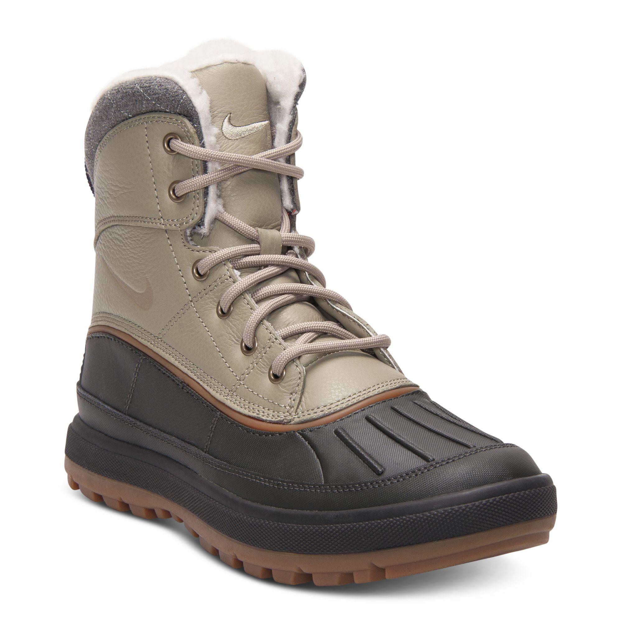 Nike Woodside Ii Outdoor Boots In Black For Men Bamboo Newsprint Lyst