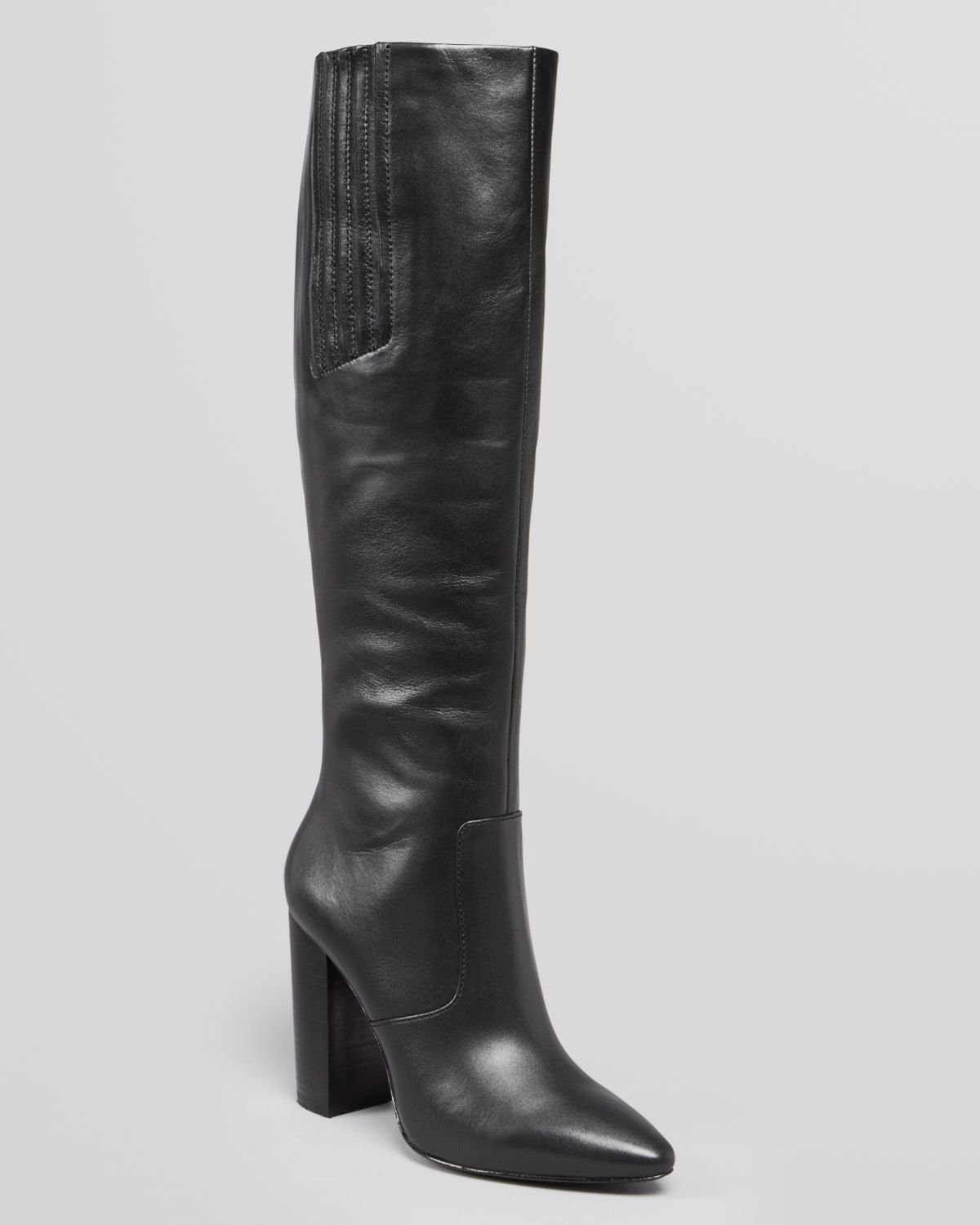 Pour La Victoire Pointed Toe Tall Boots Lorelle High Heel