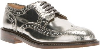 Robert Clergerie Roelf Brogue - Lyst